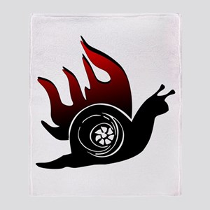 Boost Snail Throw Blanket