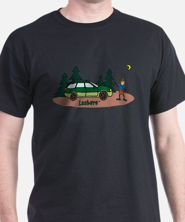 Lesbaru and Leslie Wilderness T-Shirt