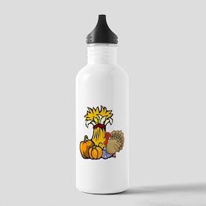 Thanksgiving Harvest Stainless Water Bottle 1.0L