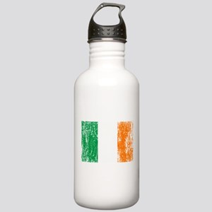 Irish Flag Pattys Drinking Stainless Water Bottle