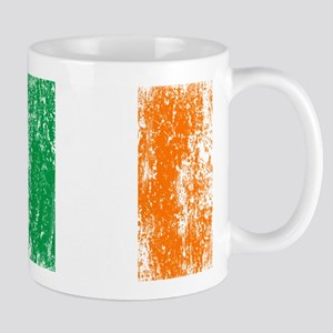 Irish Flag Pattys Drinking Mug