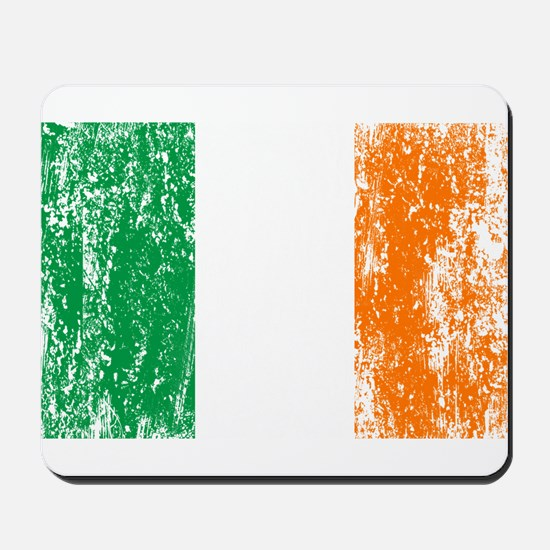 Irish Flag Pattys Drinking Mousepad