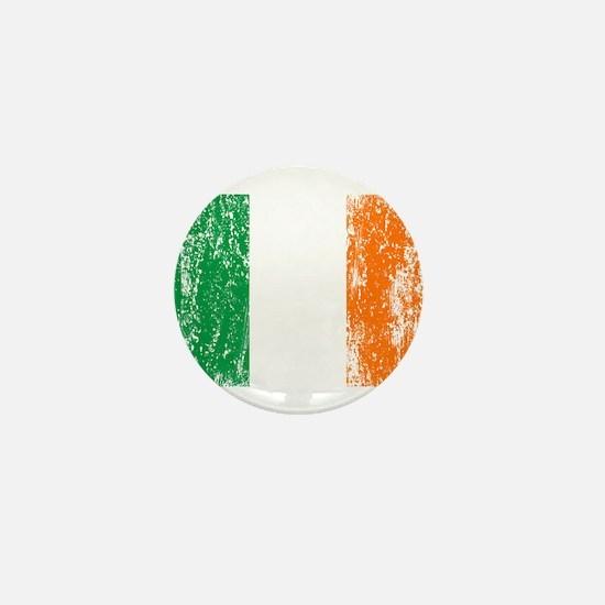 Irish Flag Pattys Drinking Mini Button