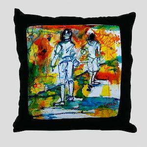 Epee Boys Throw Pillow