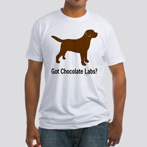 Got Chocolate Labs II Fitted T-Shirt