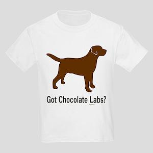 Got Chocolate Labs II Kids T-Shirt