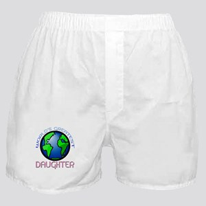 World's Greatest Daughter Boxer Shorts