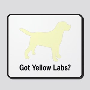 Got Yellow Labs II Mousepad