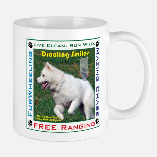 """Drooling Smiles """"A Chase Whee Mug"""