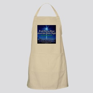 NOT b Silent about Silent Nig Apron