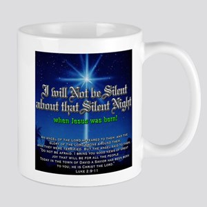 NOT b Silent about Silent Nig Mug