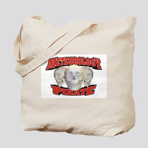 Meteorology Pirate Tote Bag