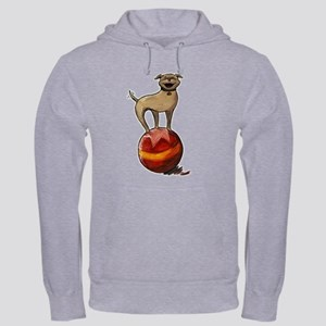 2-Sided Tripawds Have A Ball Hooded Sweatshirt