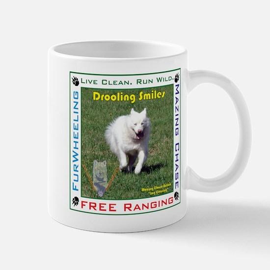 """Drooling Smiles """"Jag Chasing"""" Mug"""