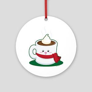 Hot Chocolate! Ornament (Round)