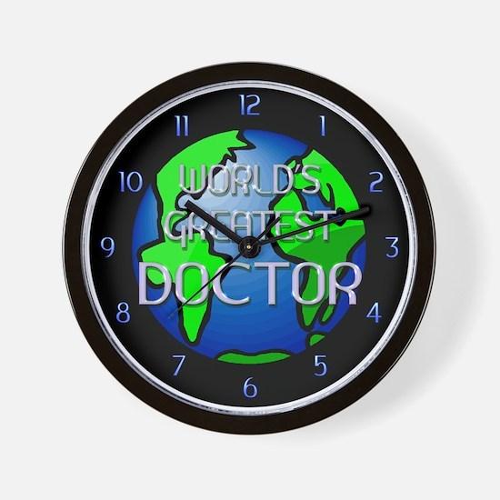 World's Greatest Doctor Wall Clock