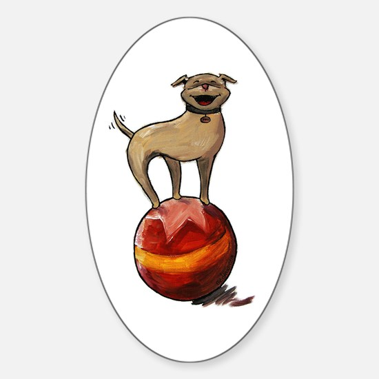 Tripawds Have A Ball Sticker (Oval)