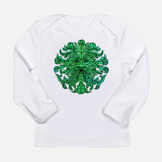 Green Man Gaze Long Sleeve Infant T-Shirt