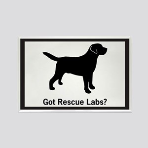 Got Rescue Labs II Rectangle Magnet