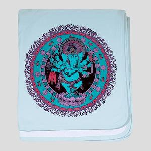 Ganesh Dancer baby blanket