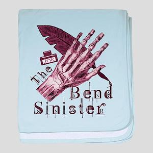 Bend Sinister baby blanket