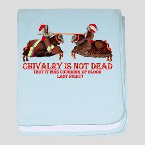 Chivalry baby blanket