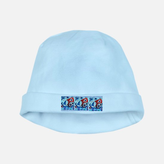 Danish Seas baby hat