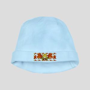 Autumn Colors baby hat