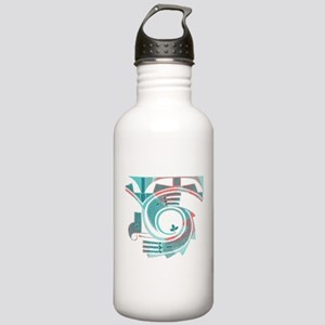 Turquoise Dawn Stainless Water Bottle 1.0L