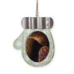 Home-made Bread Mitten Ornament