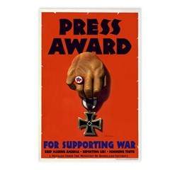 Press Award Postcards (Package of 8)