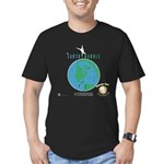 The Earth Handle Vintage Men's Fitted T-Shirt