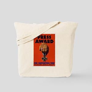 Press Award Tote Bag