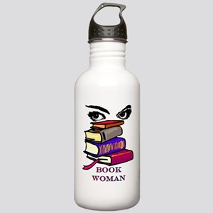 Book Woman Stainless Water Bottle 1.0L