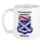 18TH INFANTRY REGIMENT-FORT RILEY Mug