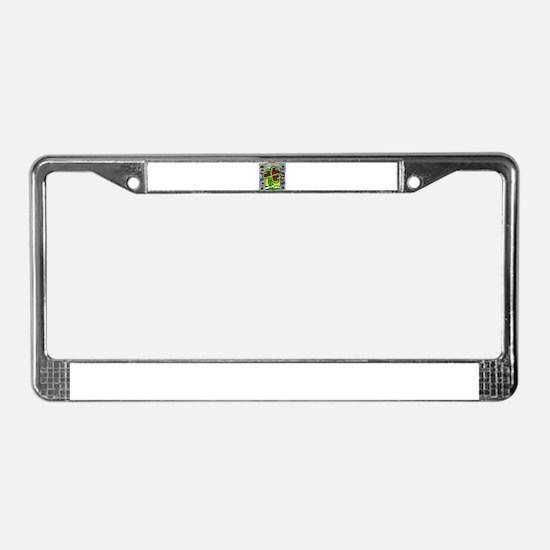 St Patrick's Day Irish Clover License Plate Frame