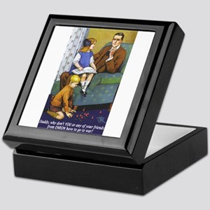 What About Daddy Keepsake Box