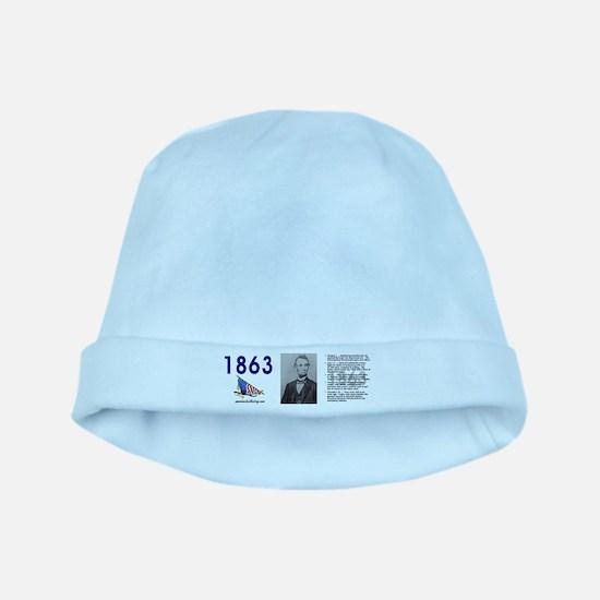Timeline 1863 baby hat