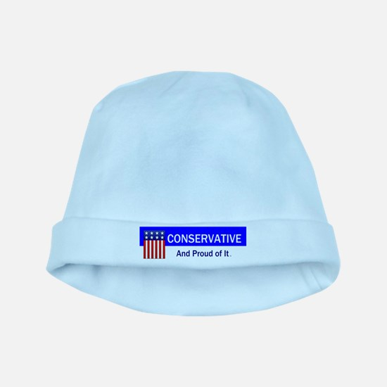 Conservative Slogan baby hat