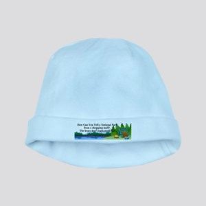 Camping Bears baby hat