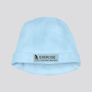 TOP Exercise Slogan baby hat