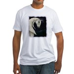 Moonlit Horse Fitted T-Shirt