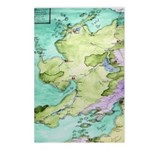 Mythical Map Postcards (Package of 8)