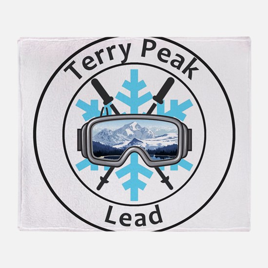 Terry Peak - Lead - South Dakota Throw Blanket