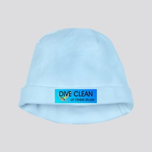 Dive Clean baby hat