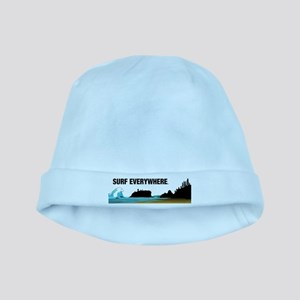 Surf Everywhere baby hat