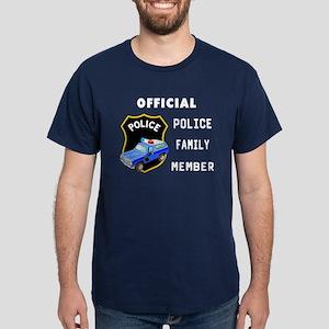 Police Family Member Dark T-Shirt