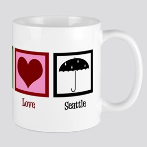 Peace Love Seattle Mug