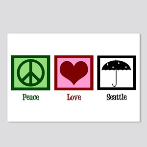 Peace Love Seattle Postcards (Package of 8)