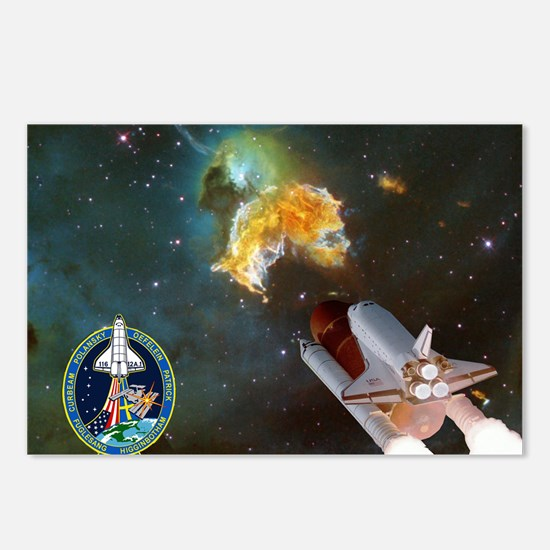 STS 116 Launch Crew Postcards (Package of 8)